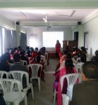 Cancer Awareness at Jaya Multiple College
